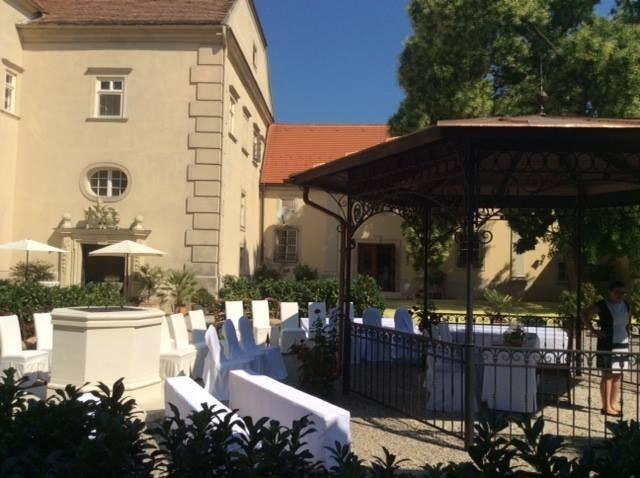 Schloss Gurhof - Hochzeit im Freien