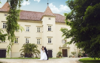 Schloss Gurhof - Brautpaar